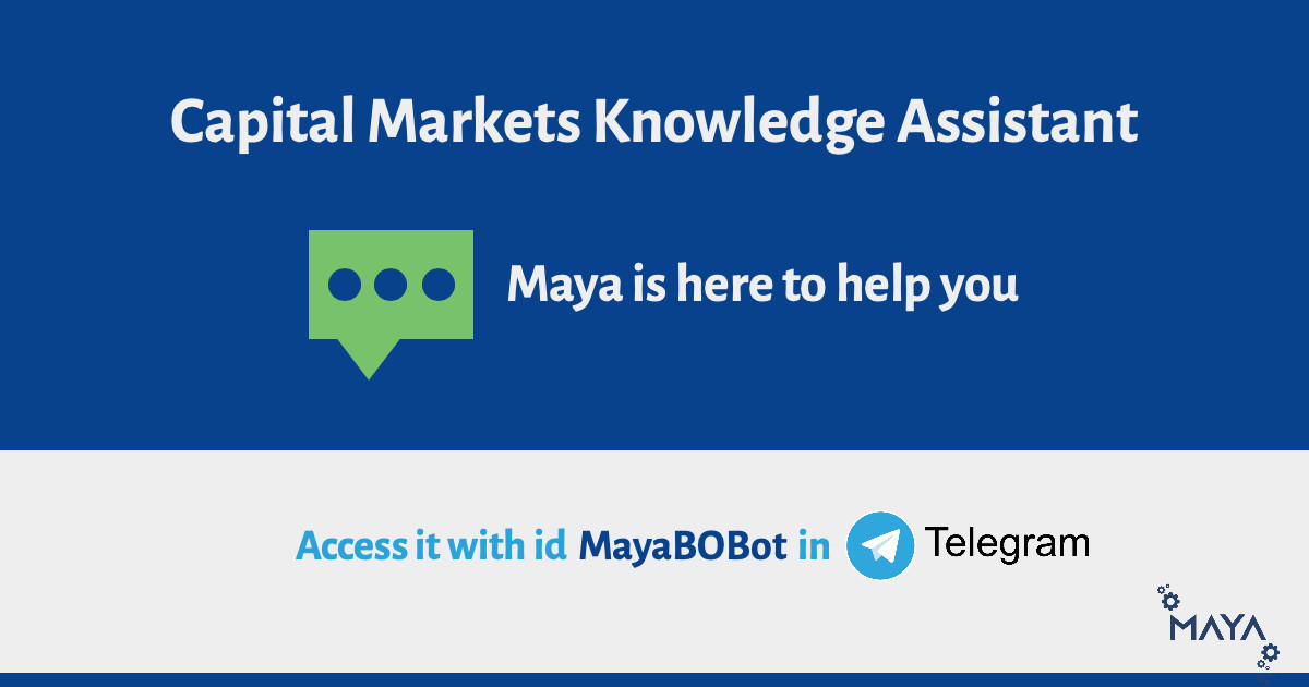 Handpicked image for the blog Capital Markets Chatbot: Maya is here